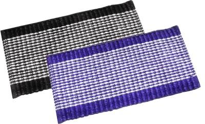 India Furnish Acrylic Medium Door Mat India Furnish Cotton Viscose Designer Footmat - Set of 2 pcs (15