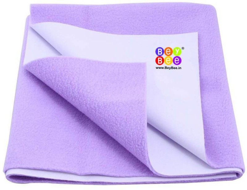 Bey Bee Cotton Changing Mat Waterproof Bed Protector Sheet(Purple, Small)