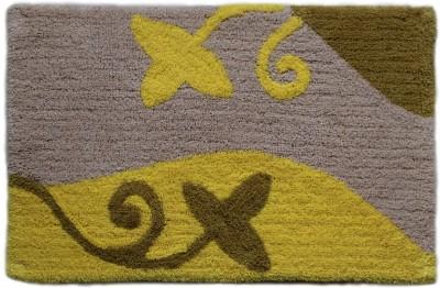 Paramorasi Cotton Medium Bath Mat Kyoto Yellow