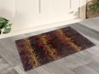 Story@Home Cotton Door Mat Door Mats(Burgundy, Medium)