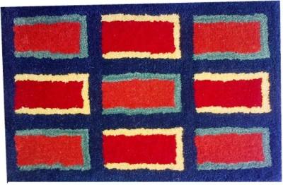 GharSansaar Wool Small Door Mat Wool Pile Rug