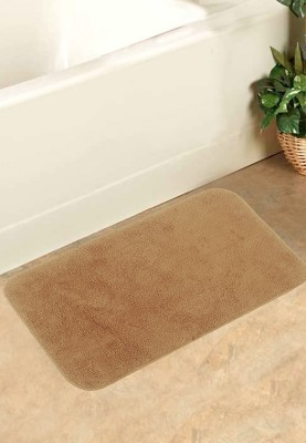 BIANCA Cotton Bath Mat Bath Mat(LT.BROWN, Large) at flipkart