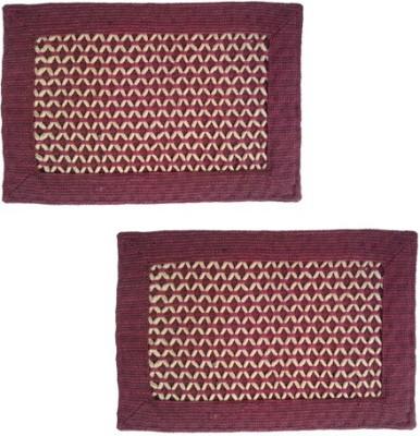 Firangi Cotton, Polyester Free Floor Mat Firangi Diamond Rope Door Mat