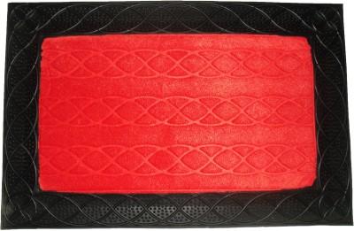 Ritika Carpets Latex Rubber Medium Door Mat Door Mat