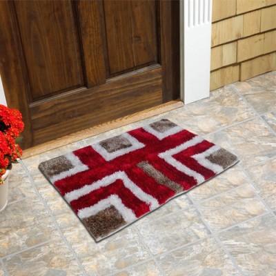 Firangi Cotton, Nylon, Polyester Free Floor Mat Firangi Decorative Premium Carpet