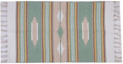 Homenblingss Cotton Small Door Mat Modern Kilim Rug
