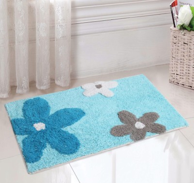 Saral Home Cotton Small Bath Mat Bathmat