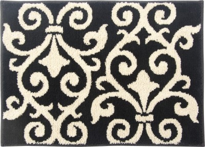 Riva Carpets Polyester Medium Bath Mat Iron Gate