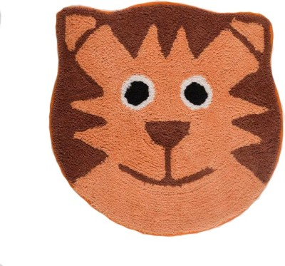Homefurry Cotton Medium Floor Mat Sober Cat
