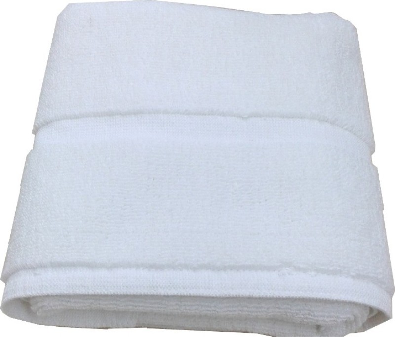 JTF Cotton Bath Mat Soft(White, Medium)