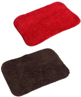 Yellow Weaves Microfiber Medium Door Mat Anti Slip & Super Soft