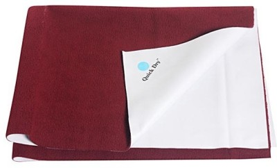 Quick Dry Organic Cotton Extra Large Sleeping Mat Quick dry generic mat Single Bed Maroon