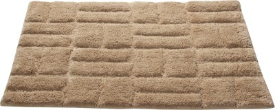 Homefurry Cotton Large Bath Mat Jigjag