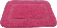 Krishna Carpets Cotton Bath Mat Mat(Pink, Medium)