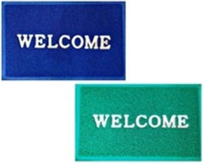 Optimistichome Furnishing Polyester Medium Floor Mat Optimistichomefurnishing Welcome Door Mat