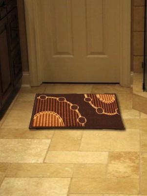 Firangi Polyester, PVC Free Door Mat Firangi Decorative Printed Door Mat