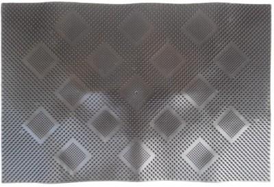 Firangi Cotton, Polyester Free Floor Mat Set of 2 PVC Cube Door Mat