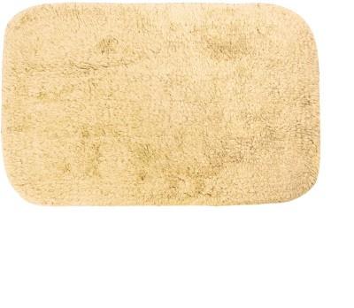 Just Linen Polyester Small Door Mat Floor coverings(Papayawhip, 1 Mat)