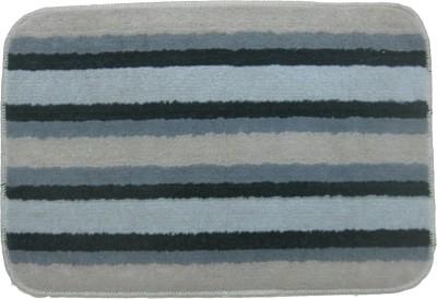 Krishna Carpets Polyester Medium Bath Mat Stripe
