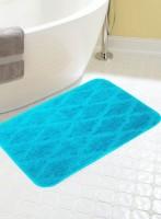 BIANCA Microfiber Medium Anti-slip/Anti-grease Mat BATH MAT(TEAL, 1 BATH MAT)