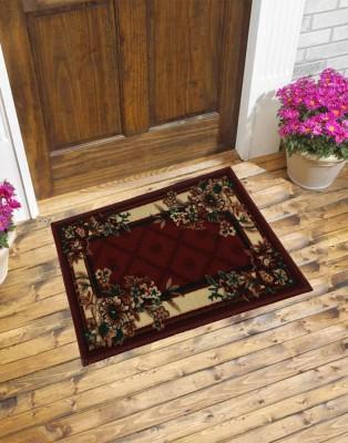 Carpet House Vishali Nylon Medium Floor Mat Floral Delight