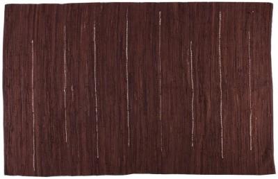 Homenblingss Cotton Large Door Mat Solid Brown Rug