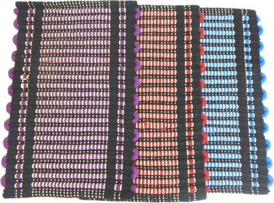 Peponi Cotton Small Floor Mat Hand woven