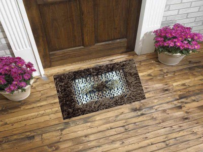 sawariya décor Polyester Medium Door Mat SD00220220
