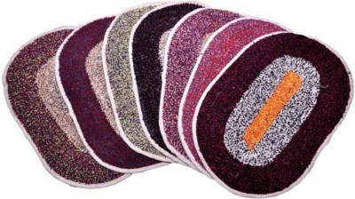 TTC Cotton Free Floor Mat Oval Mat