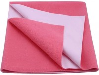Cozy Dry Cotton Small Baby Bed Protecting Mat Mat Water Proof Sheet Salmon rose(Pink)