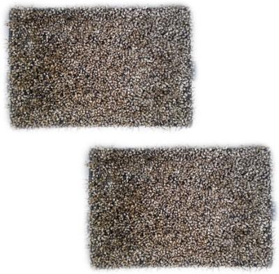 Firangi Cotton, Polyester Free Floor Mat Firangi Decorative Royal Door Mat