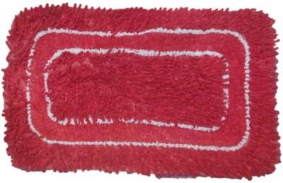 Suncity Door Mat Cotton Small Floor Mat Red Mat