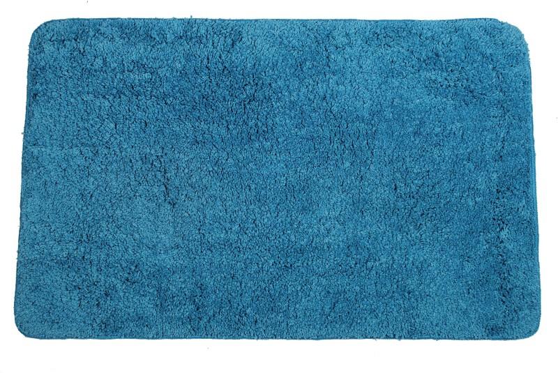 Casa Copenhagen Polyester Bath Mat Non-Skid(Hwain Ocean, Medium)