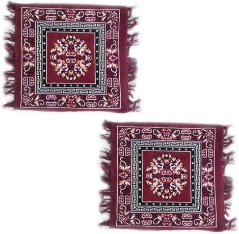 Firangi Cotton, Polyester Free Floor Mat Firangi Designer Multipurpose Carpet