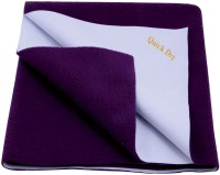 Quick Dry Cotton Extra Large Baby Bed Protecting Mat Mat water proof sheet Plum Doble Bed(Plum)