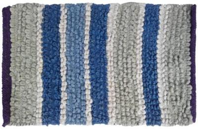 Firangi Cotton, Nylon, Polyester Free Floor Mat Firangi Decorative Loopy Door Mat