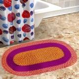 MidhaGroups Cotton Floor Mat 541651 (Mul...
