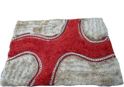 Mrignayaneei Acrylic, Silk, Cotton Medium Door Mat Acrylic