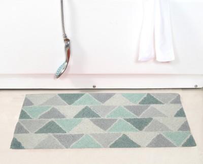 ACASA Cotton Changing Mat 100% COTTON TUFTED ALIEN BED/BATH RUG(Multicolor, Large)