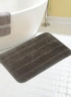 BIANCA Microfiber Medium Anti-slip/Anti-grease Mat BATH MAT(CHOCOLATE, 1 BATH MAT)