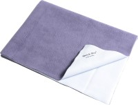 Quick Dry Microfiber Extra Large Baby Bed Protecting Mat Mat Bed Protector - Single Bed(Heather, 1 Mat)