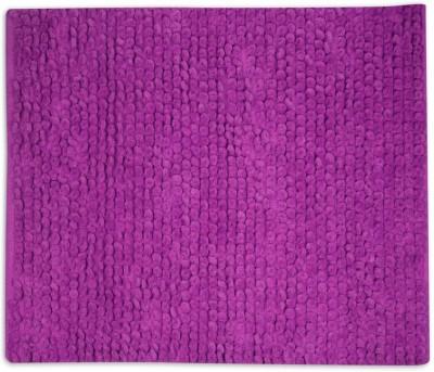 House This Cotton Free Floor Mat Floor Rug(Purple, 1 Floor Mat)