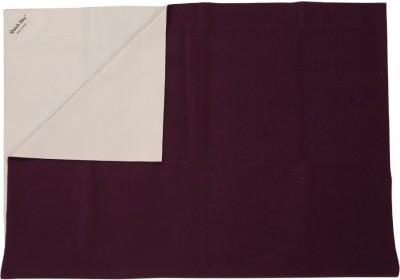 Quick Dry Rubber Medium Sleeping Mat Waterproof Sheet Medium-Plum