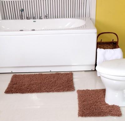 ACASA Cotton Large Bath Mat ABM002 BROWN(Brown)