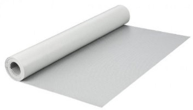 Premeca PVC Anti-slip/Anti-grease Mat drawer(White, Medium)