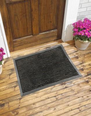 Carpet House Vishali PVC Medium Door Mat Plain Grace