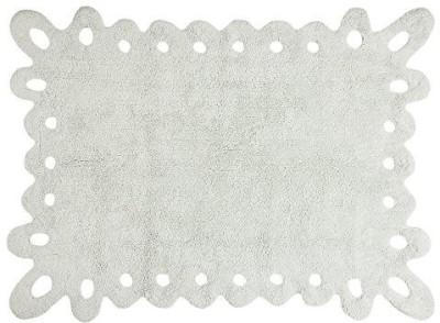 Lorena Canals Cotton Medium Floor Mat Puntilla Ice Washable Childrens Rug