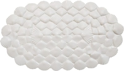 Arow PVC Large Bath Mat SHELL BATHMAT-04