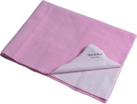 Quick Dry Microfiber Extra Large Baby Bed Protecting Mat Mat Bed Protector - Single Bed(Pink, 1 Mat)