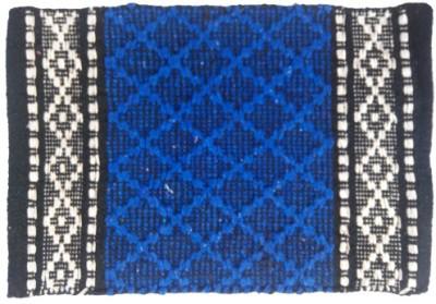 Firangi Cotton, Nylon, Polyester Free Floor Mat Firangi Designer Diamond Door Mat